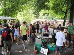 fällt aus: Frühlings-Flohmarkt Vauban @ Vauban-Marktplatz