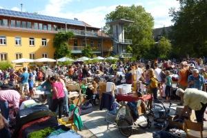 Herbst-Flohmarkt Vauban @ Alfred-Döblin-Platz (Marktplatz Vauban)