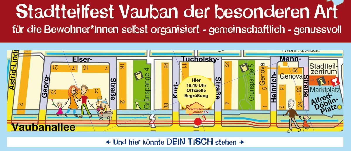 Plan Lange Tafel Vauban