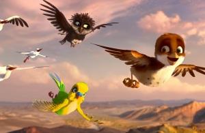 Kinderkino: Überflieger... Kleine Vögel - großes Geklapper @ Kinderabenteuerhof